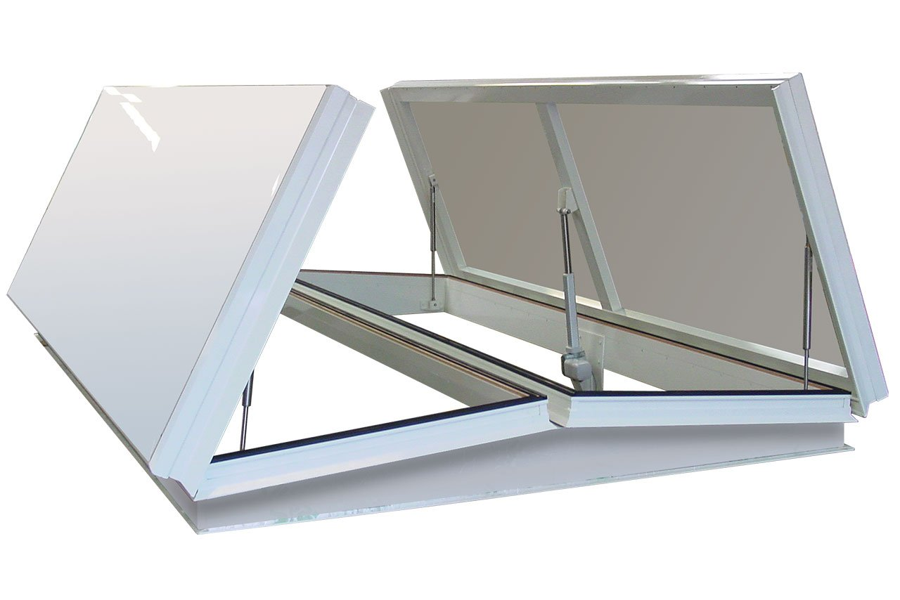 Double Roof Access Hatch
